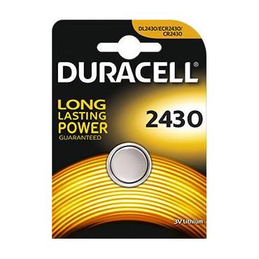 Pile CR2430 3 volts - Duracell