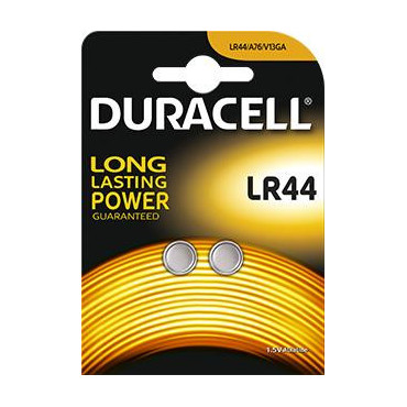 Piles LR44 1,5 volt - Duracell