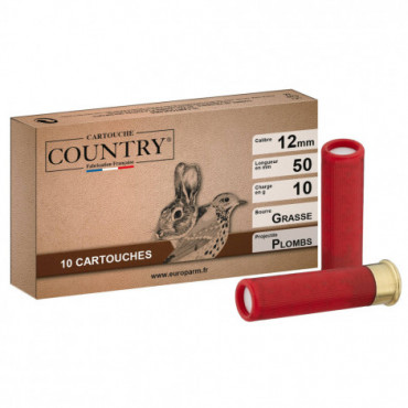 Cartouches Country - Cal 12 mm