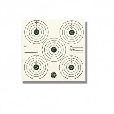 Cartons-cibles 16 x 16 cm