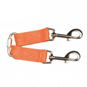 Accouple nylon orange fluo...