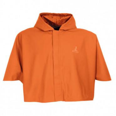 Capeline réversible orange...