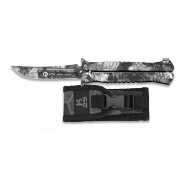 Couteau papillon K25 Camo...