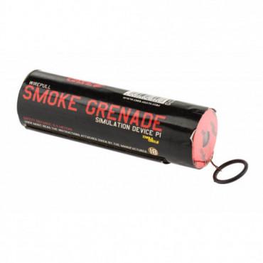 Fumigène à goupille rouge -...