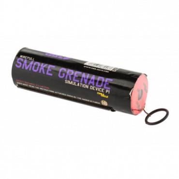 Fumigène à goupille violet...