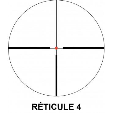 Lunette de visée Nikko Stirling 3-12 x 62 Ret. 4 Lumineux